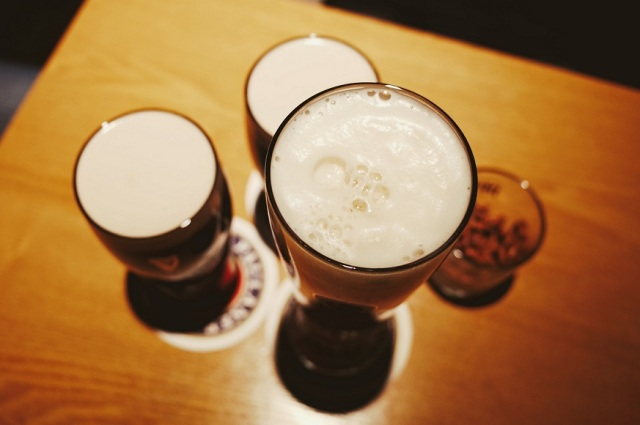 Cervezas de arriba