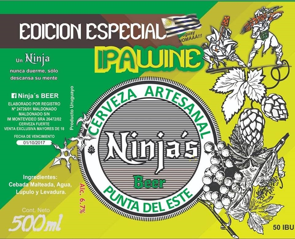 Ninjas IPA Wine