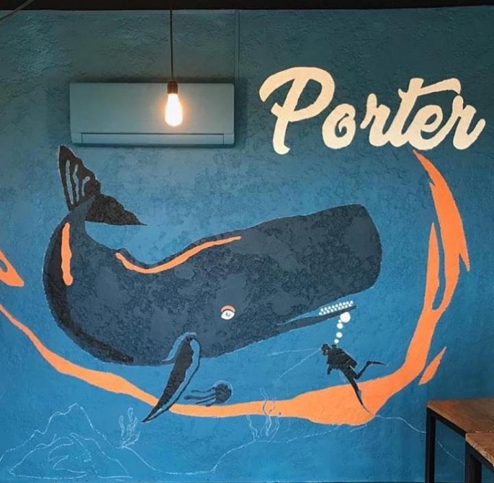 Volcánica Bar mural Porter